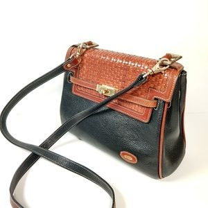 Vintage Bally woven leather crossbody